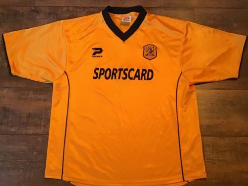 2001 2002 Hull City Home Football Shirt Adults Large